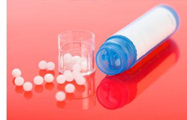 Bolitas de homeopatía