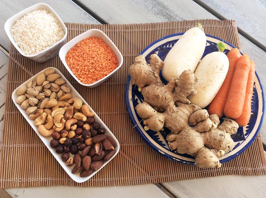 Medicina china y alimentos de otoño